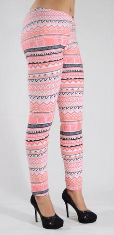Mallones leggins de algodón con diseños tribales Mod.06