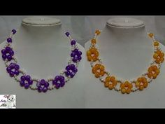 #90 How to Make Pearl Beaded Necklace || Diy || Jewellery Making - YouTube