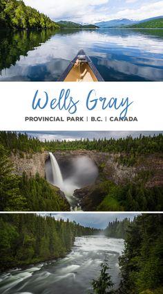 Wells Gray Provincial Park   Helmcken Falls   Dawson Falls   Clearwater Lake   British Columbia   Canada   Kanada