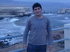 Junto a la portada de Antofagasta :)