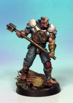 Brute (metallic armour and heavy mace) gallery – Punkapocalyptic