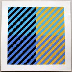 Anton Stankowski, Farbserigraphie, 1977