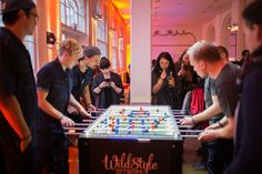 Foosball Tournament 2017 - it was fun and the team has been winner of the hearts.