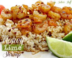 Healthy Honey Lime Shrimp Recipe