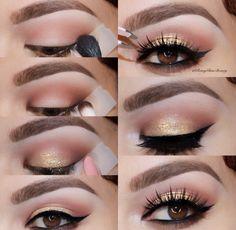 lashes and lip gloss Makeup Eye Looks, Cute Makeup, Prom Makeup, Smokey Eye Makeup, Pretty Makeup, Skin Makeup, Bridal Makeup, Eyeshadow Makeup, Wedding Makeup