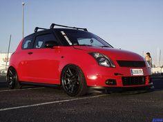 Swift with xxr 527 Suzuki Swift Sport, Suzuki Cars, Jdm, Rally, Vehicles, Motorcycles, Passion, Ideas, Car