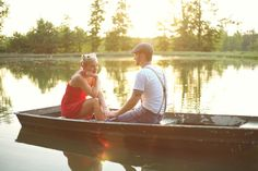 vintage couple engagement, I wish there were lakes like this in San Antonio.