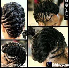 Hair Braid Styles for Summer Natural Hair Braids, Long Natural Hair, Natural Hair Styles For Black Women, Braids For Black Hair, Natural Styles, Natural Updo, Au Natural, Long Hair, African Braids Hairstyles