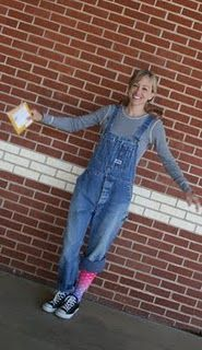 book characters that wear overalls