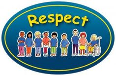 Core Values School Sign (Friendship Collection) - Respect. Design by Gunvor Edwards. Strong rigid Foamex boards available in choice of two thickness sizes and six colours - Red, Maroon, Yellow, Red/Yellow, Blue and Green. 5mm thickness or 10mm thickness - visit our website to see our full range and prices.