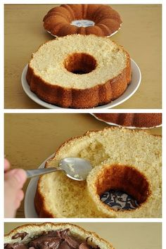 Wonderful DIY Delicious Chocolate Filled Cake Wonderful DIY Delicious Chocolate Filled Cake Original article and pictures take http://wo...