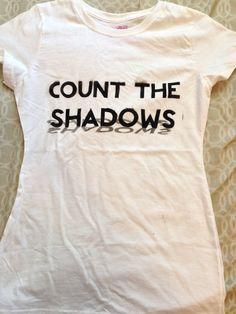 Count the Shadows Vashta Nerada Doctor Who Tshirt on Etsy, $21.00