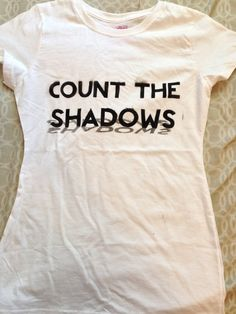 Count the Shadows Vashta Nerada Doctor Who Tshirt on Etsy, $21.00