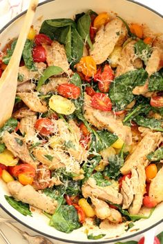 Healthy One Pot Meals, Easy One Pot Meals, Healthy Dinner Recipes, Real Food Recipes, Healthy Meals With Chicken, Quick Meals, Drink Recipes, Paleo Recipes, Delicious Recipes