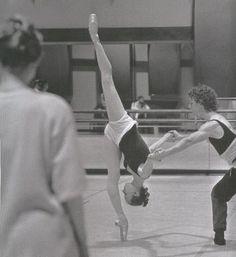 Matthew Lawrence and Elisha Willis in Coppélia. Photo Roy Smiljanic/Birmingham Royal Ballet