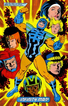 New Gods The Forever People and Infinity Man