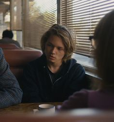 Character: Quincy Pym. He is with his estranged and disapproving foster parents.