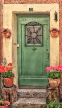Grüne Tür / Green Door