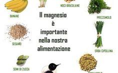 Alimentazione....Il magnesio!!!! Il Magnesio è uno dei sali minerali più importanti e preziosi...Le sue funzioni sono molteplici e tu magnesio. alimentazione vitamine