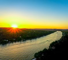 Mount Bonnell in Austin, TX A Sunset that will leave you speechless. One of the perks about this spot is a nice little hike and it is free to the public to get to this picture!    https://en.wikipedia.org/wiki/Mount_Bonnell    (All photographs are copyright encrypted)