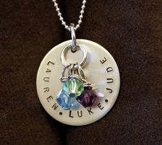 Kid Name Jewelry Mommy Necklace