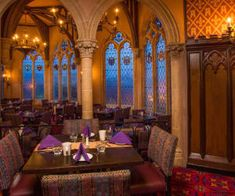 The best restaurants at Magic Kingdom, ranked Cinderella Royal Table, Disney World Magic Kingdom, Florida Travel, Disney Pictures, Taj Mahal, Restaurant, Castles, Interior, Disney Images