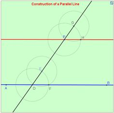 Construction of a Parallel Line
