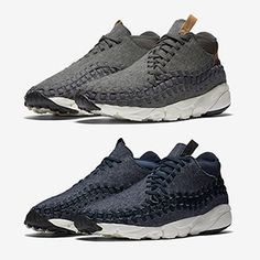 Nike continues to prepare us for winter with the NIKE AIR FOOTSCAPE WOVEN  CHUKKA WOOL AND f0d2e04d2