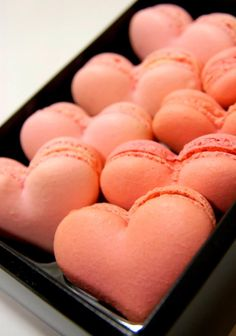 Heart macarons for the dessert bar?! Yes please!