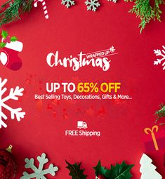 Your Christmas Bag is here. Shop everything with a discount of up to 65% for your child. From toys, decorations to gifts. Shop authentic brands with great deals. #LoveSprii #SpriiBaby #Christmas #Sale #Offers #couponcode #onlineshopping #uae Discount Deals, Shopping Deals, Christmas Bags, Uae, Coupon Codes, Coupons, Coding, Child, Decorations