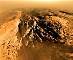 Titan Saturn Moon   Spacecraft data suggest Saturn moon Titan has thick, rigid ice shell