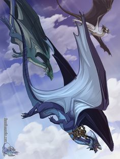 Drake by neondragon on DeviantArt Dnd Dragons, Cool Dragons, Magical Creatures, Fantasy Creatures, High Fantasy, Fantasy Art, Dragon Anatomy, Dragon Artwork, Dragon Rider