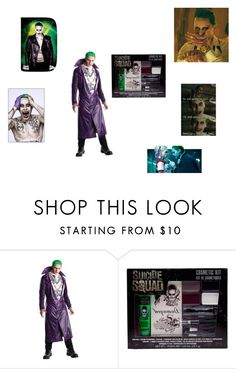 """Joker"" by effyswanhaze ❤ liked on Polyvore featuring men's fashion and menswear"