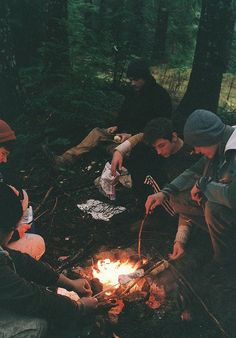 {campfire chatter}