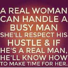 A real man....A real woman..