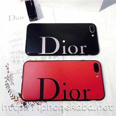 ブランド dior 赤 iPhone7s/7splusカバー オシャレ