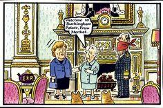 2014-02-28 Celebrity Caricatures, Buckingham Palace, British Royals, Cartoons, Royalty, Mac, History, Pink, Humor