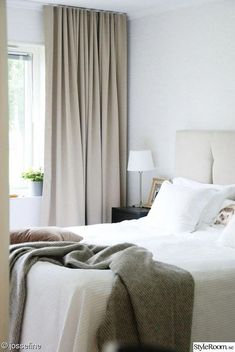 Bedroom Neutral Beige Curtains Ideas For 2019 Neutral Bedrooms, Trendy Bedroom, Guest Bedrooms, Luxurious Bedrooms, Bedroom Colors, Bedroom Decor, Bedroom Curtains, Light Bedroom, Bedroom Modern
