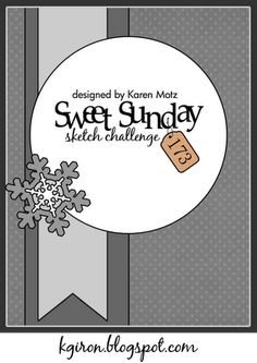 the sweetest thing...: Sweet Sunday Sketch Challenge 173