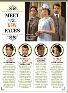 Downton abbey new characters