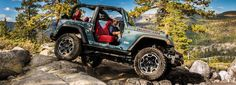 Trail Rated Jeep Wrangler