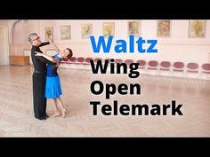 Lezione di base sul valzer | Ala, Telemark aperto, Esitazione incrociata, Spin esterno - YouTube
