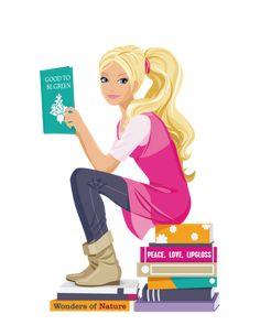 Barbie leitora