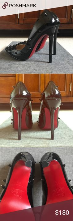 Diamond Spiked Heels Red Bottom Diamond Spiked Heels Shoes Heels