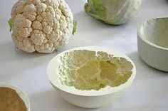 How fantastic are these fruit-cast bowls?! Designed by mischer'traxler.