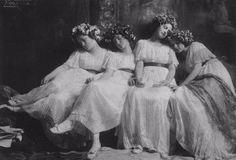 Женские портреты начала 20 века Фрэнка Юджина 26