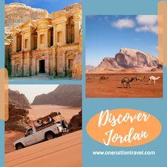 Jordan Tours, City Of Petra, Jordan Travel, Wadi Rum, Amman, Taj Mahal, Natural Beauty, Jordans, History