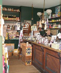 interior Susannah Place grocers, The Rocks