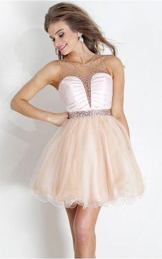 A-line Sweetheart Empire Sleeveless Short Cocktail Dresses zmh018
