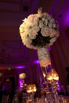 Tic Tock Couture Florals - If These Petals Could Talk Unique Wedding Centerpieces, Flower Centerpieces, Flower Arrangements, Wedding Set Up, Dream Wedding, Wedding Ideas, Wedding Album, Party Wedding, Wedding Stuff